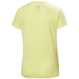 Helly Hansen Skog Graphic T-Shirt Femme, yellow pear